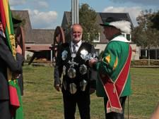 Toon Rooijakkers uit Haghorst nieuwe Gildekoning van Sint Sebastiaan