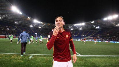 """Totti wil pensioen dan toch niet bevestigen: """"Weet niet of ik op 28 mei mijn laatste match speel"""""""