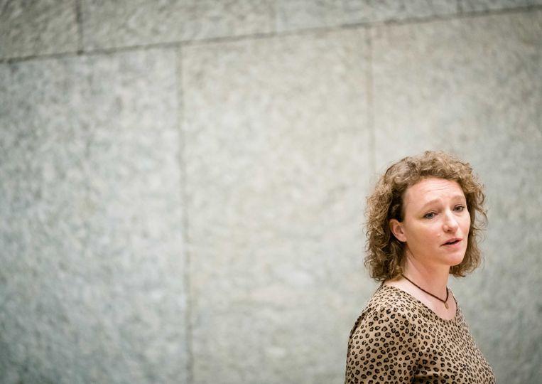 SP-Kamerlid Renske Leijten: 'Wij willen van mensen weten welke problemen zij hebben ervaren.' Beeld ANP