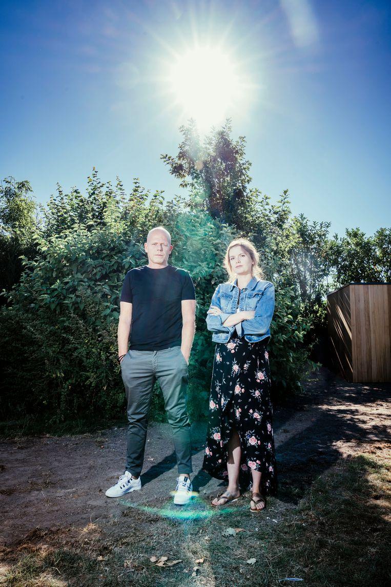 Mary en Van Bocxlaer: 'Verschrikkelijke hoe bij die ouders elke vorm van schuldinzicht en waardigheid afwezig is.' Beeld © Stefaan Temmerman