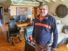 Het wonder van Frank: na acht jaar in een rolstoel kan hij weer lopen, met dank aan corona