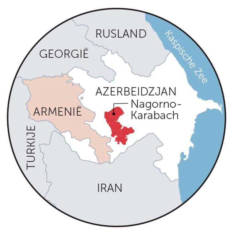 Armenië Azerbeidzjan Nagorno-Karabach Beeld rv