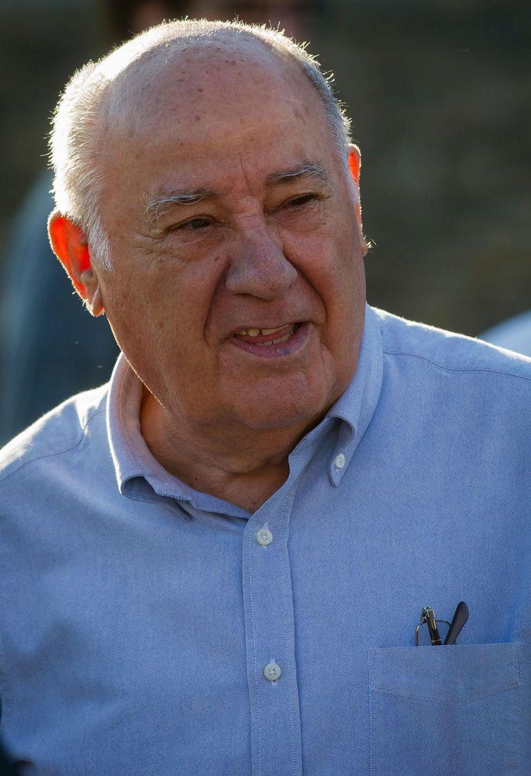 Amancio Ortega, oprichter Zara. Beeld AFP