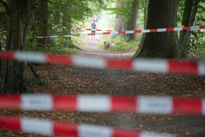 Het gebied rond de Douwelerkolk was zaterdag 25 september een groot deel van de dag afgesloten.