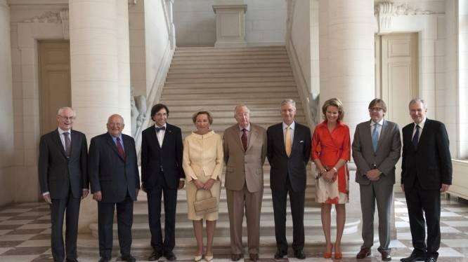 """Di Rupo: """"Eerste keer dat kost monarchie zal dalen"""""""