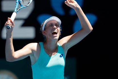 Magische Elise Mertens naar halve finale Australian Open!