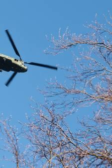 Overlast vliegbasis kan stuk minder: Bavel wil dat heli's hoger gaan vliegen