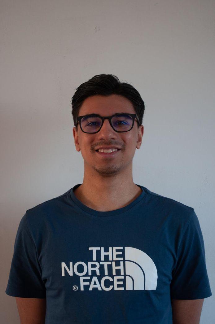 Michaël Tahamata verruilt Leerdam Sport volgend seizoen voor Vuren. PRIVÉFOTO