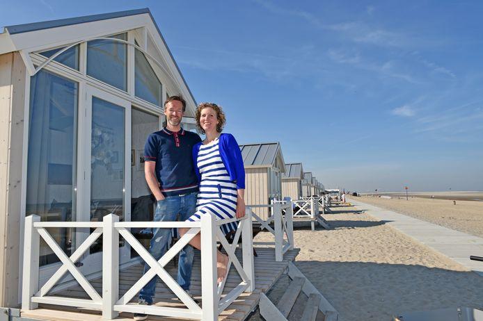 Initiatiefnemers Jeroen en Patricia Struving van de stichtting Leef met de Zee