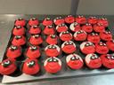 Rode Neuzen gebakjes vlogen de deur uit bij bakkerij Vanderveken.