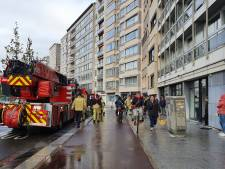 Brandweer rukt uit voor brand op Italiëlei