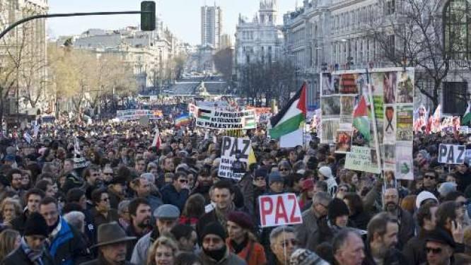 Wereldwijd betogingen voor en tegen Israël