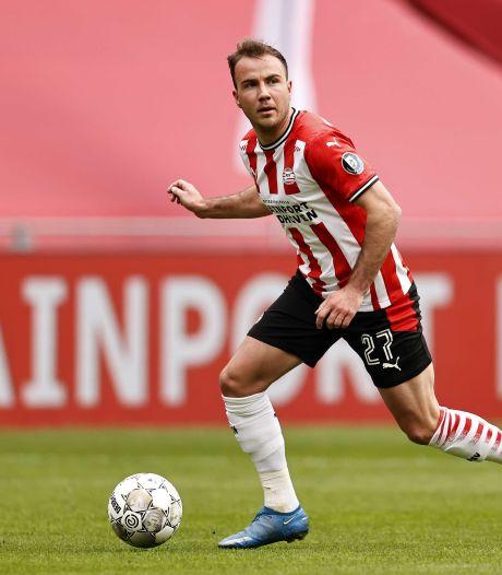 PSV heeft goede hoop dat Mario Götze blijft ondanks clausule