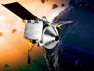 Amerikaanse asteroïdeverkenner op weg naar huis