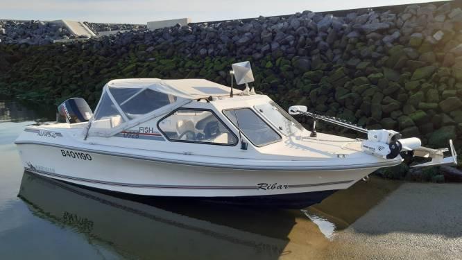 Gestolen motorboot teruggevonden in Sas van Gent