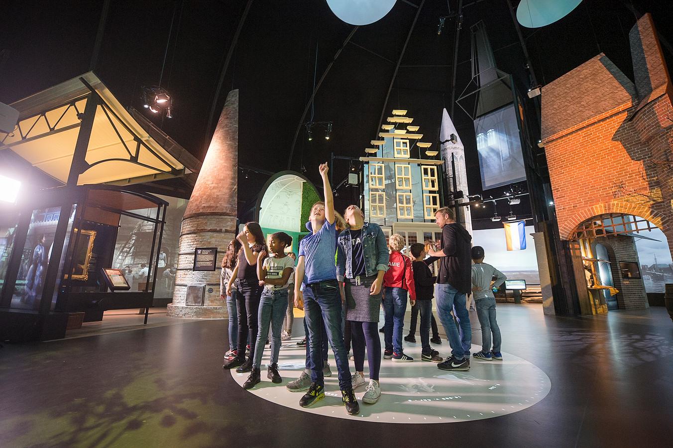 De Canon van Nederland in het Arnhemse Openluchtmuseum.