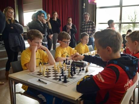 Van schaken word je niet alleen slim, maar ook nog eens supersportief