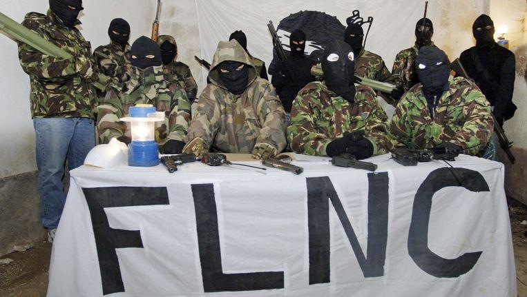 Een foto van het FLNC uit 2006 Beeld AFP