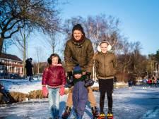 Harmen genoot voor het eerst met zijn drie kinderen van natuurijs: 'Dit voelt als een cadeautje'