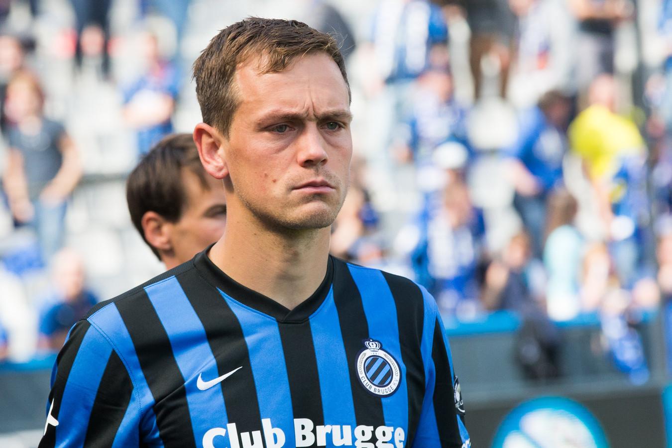 Tom De Sutter destijds bij Club Brugge.