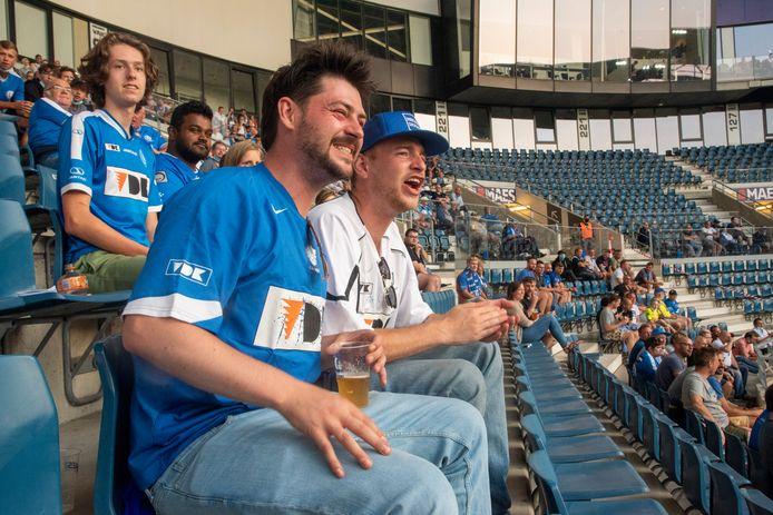 """Steve en Matthias, fervente supporters: """"Gent leeft weer"""""""