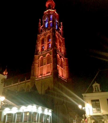 Het licht gaat één uur uit bij de Grote Kerk in Breda