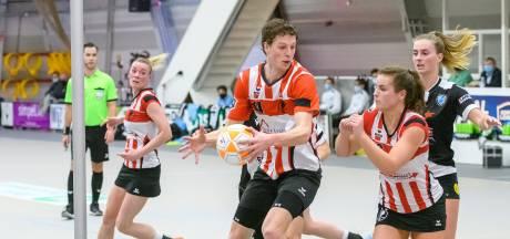 Korfbalsetje Visscher en Klaver: 'We willen Ahoy winnen, maar wel samen'