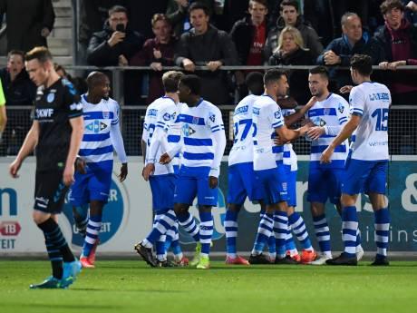 Messcherp PEC Zwolle werkt aan zelfvertrouwen en laat pover De Graafschap in beker kansloos