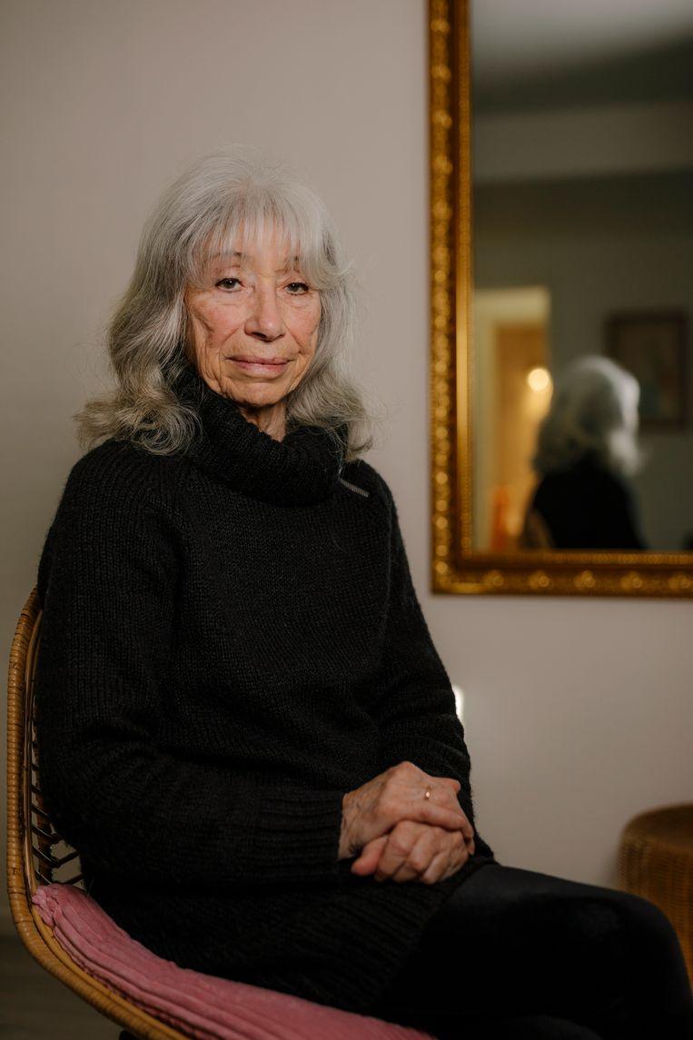 Rosette van Engeland-Groen verloor haar ouder in het concentratiekamp.  Beeld Marc Driessen