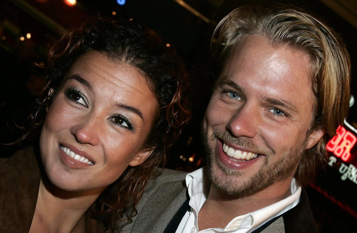 Katja en Thijs in 2004.