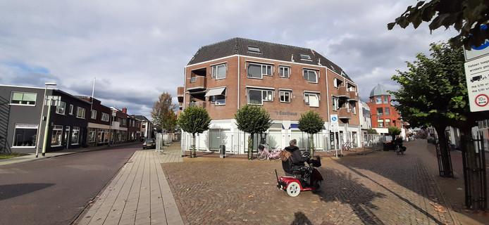 Het Gasthuus in Winterswijk: achttien appartementen en een ouderencentrum op de begane grond.
