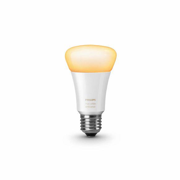 Een slim peertje van Philips Hue, een van de vele merken die vandaag slimme lampen in hun assortiment hebben (al is Hue wel de marktleider).