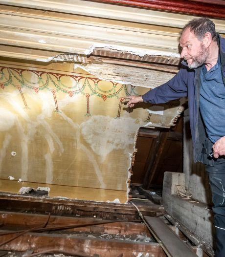 Restauratie oude theaterzaal Budel-Dorplein brengt bijzondere ontdekkingen aan het licht