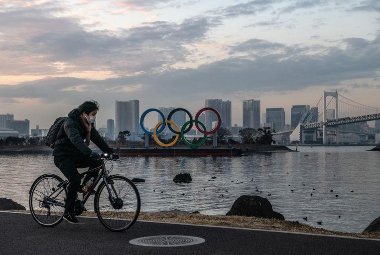De Olympische Spelen gaan door vanaf 23 juli, verzekert de organisatie. In Tokio staat alles klaar. Beeld Getty Images