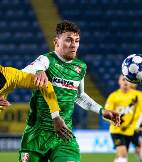 Bliek beleeft teleurstellende terugkeer bij FC Dordrecht: 'De trainer en ik zitten niet op één lijn'