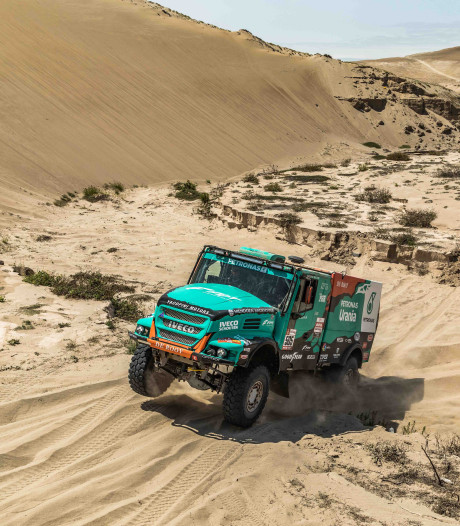 Uitslagen Dakar Rally, etappe 8: De Rooy pakt tijd terug op Nikolaev, dubbelslag Sotnikov
