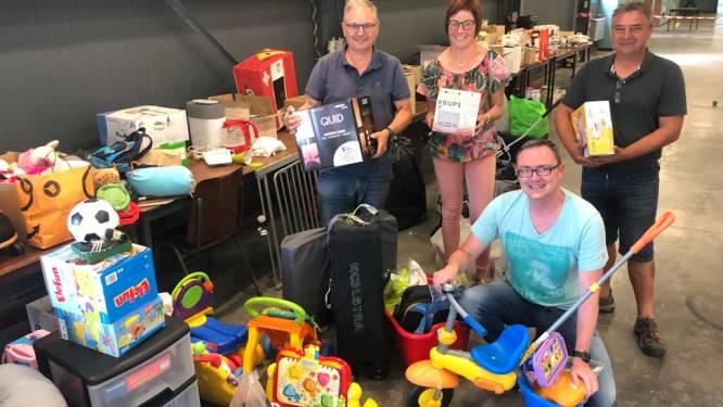 Burgemeester terecht fier op inwoners die tal van goederen inzamelden via Linter Helpt