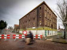 Weg rondom Welkooppand in Steenwijk afgesloten: 'Onveilige situatie'