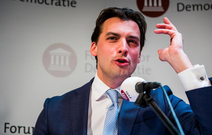 Thierry Baudet, leider van Forum voor Democratie.