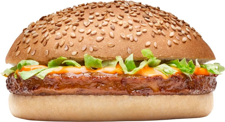 Vegaburger. Beeld Arie de Leeuw