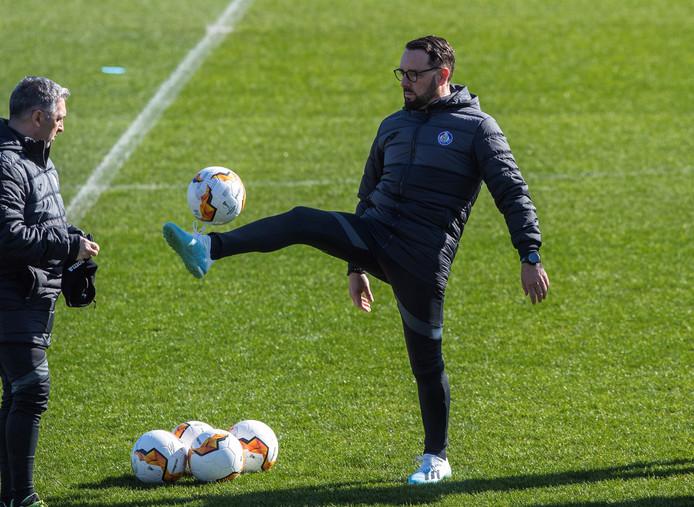 Trainer José Bordalás van Getafe.