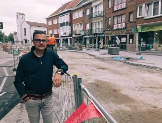 Werken Molenstraat liggen stil, schepen stuurt ingebrekestelling naar aannemer