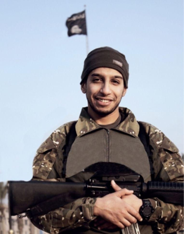 'Volgens de moeder van Salah waren Abdelhamid Abaaoud (foto) en haar zoon als kind al beste maatjes. 'Toen al was het Abaaoud die Salah altijd meesleurde.' Beeld