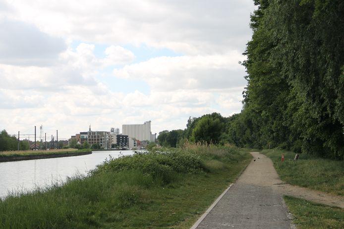 Groenzone Wandel op de Mandel in Emelgem.