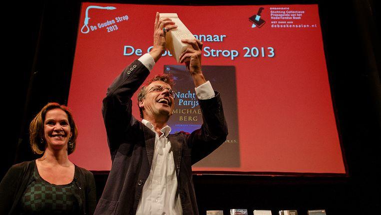 Michael Berg is de winnaar van De Gouden Strop Beeld anp