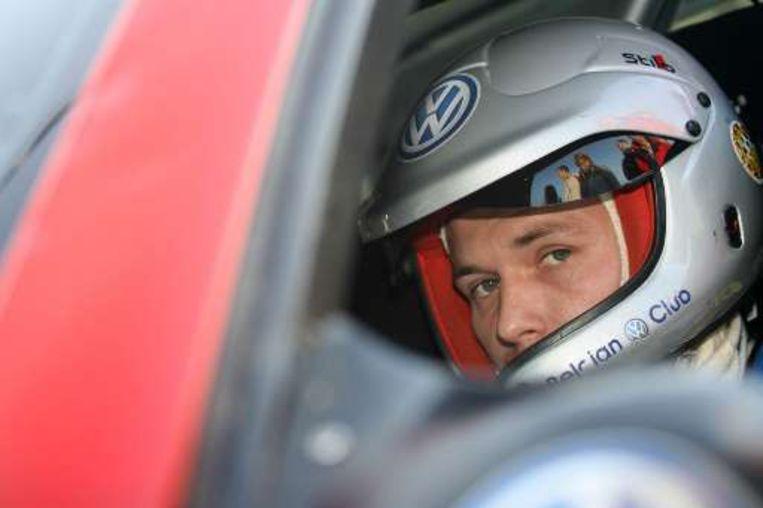 Bernd Casier werd zondag derde in de Rally van de Condroz. Beeld UNKNOWN