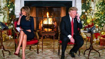 """Trump verpest de magie voor jongetje dat wacht op de kerstman: """"Geloof je nog in Santa? Op zeven is dat op het nippertje, niet?"""""""
