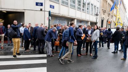Verdachte bommelder Vlaams parlement opgepakt, ontruiming gebeurde pas twee uur na melding
