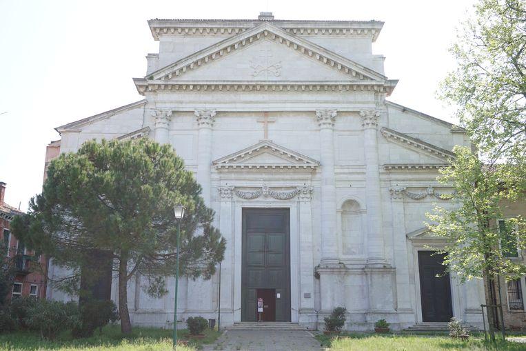 San Pietro di Castello was de allereerste kathedraal van Venetië. Beeld Jef Mertens/The Venice Insider