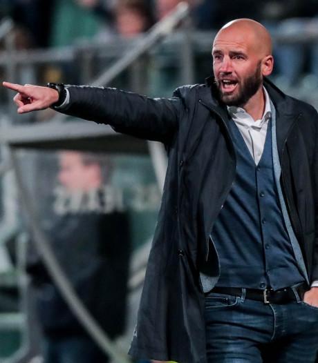 NAC-trainer Van der Gaag ziet perspectief in het spelen met drie centrale verdedigers